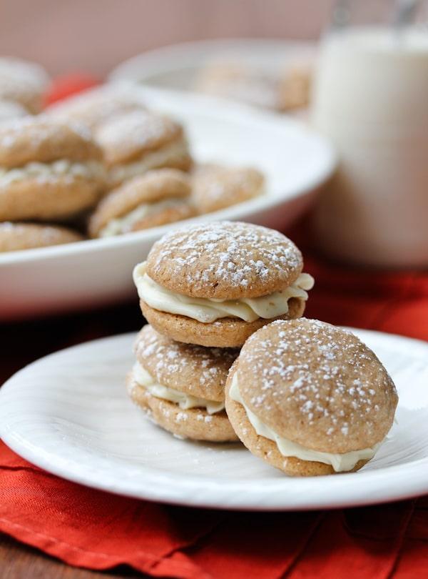 Chai Sandwich Cookies