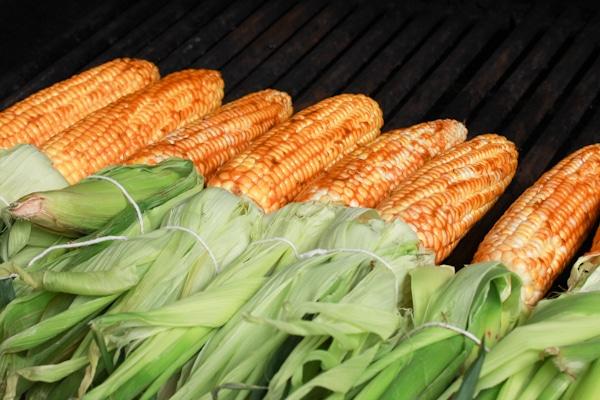Grilling Corn