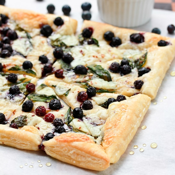 Blueberry Pizza Appetizer