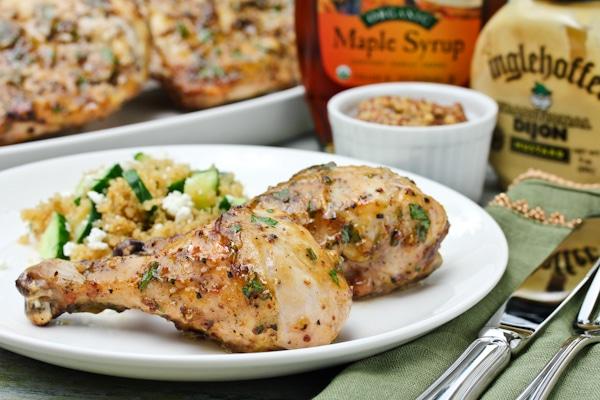 Grilled Mustard Chicken