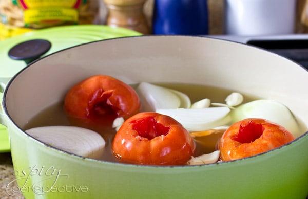 Making Chilaquiles |ASpicyPerspective.com
