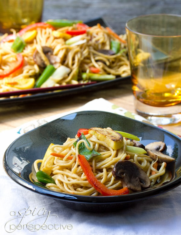 Lo Mein #ASpicyPerspective #LoMein #LoMeinRecipe #LoMeinNoodles #Noodles #HowtoMakeLoMein #MainDish #Vegetarian #Healthy