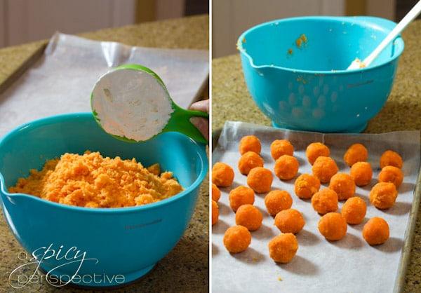 How to Make Creepy Cake Truffles | ASpicyPerspective.com #Halloween #Cake #Recipe