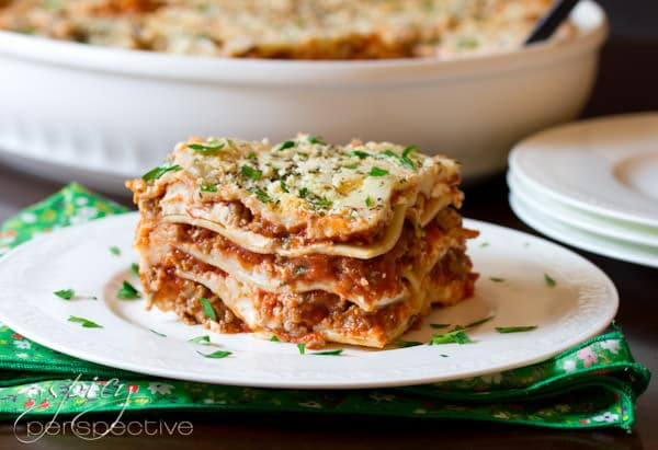 Homemade Lasagna With Sausage A Spicy Perspective