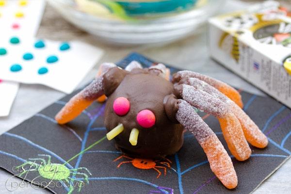 Creepy Cake Truffles | ASpicyPerspective.com #Halloween #Cake #Recipe