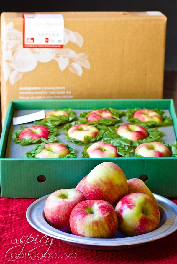 Harry & David Honey Crisp Apples | ASpicyPerspective.com #recipe #applepie #holiday