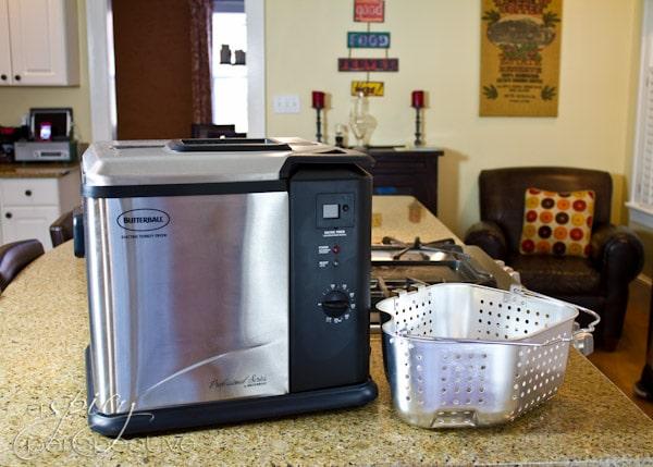 Fried Turkey Recipe with Masterbuilt | ASpicyPerspective.com #thanksgiving #turkey