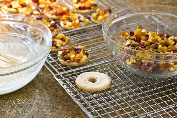 How to make Fruitcake Cookies | ASpicyPerspective.com #cookies #christmas #holidays