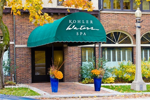 Kohler Waters Spa - Wisconsin | ASpicyPerspective.com #travel