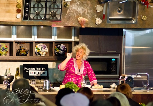 Anne Burrell - Kohler Food & Wine Festival | ASpicyPerspective.com #travel